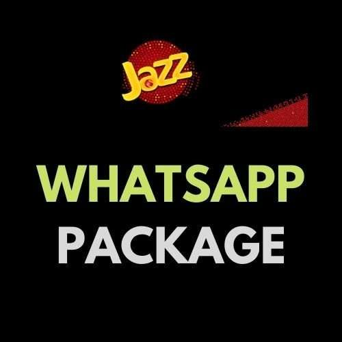 Jazz WhatsApp Package Free, Monthly, Weekly & Daily