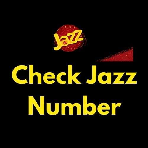 How to Check the Jazz number?